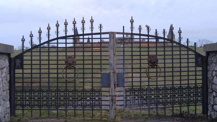 Castle Iron Gate Gate