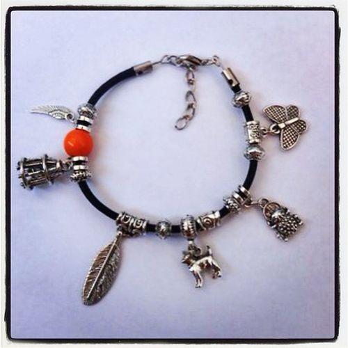 браслет ручнаяработа крыло собачка бабочка подвеска браслетсподвесками клетка купить fashion good cool bracelet hendmade