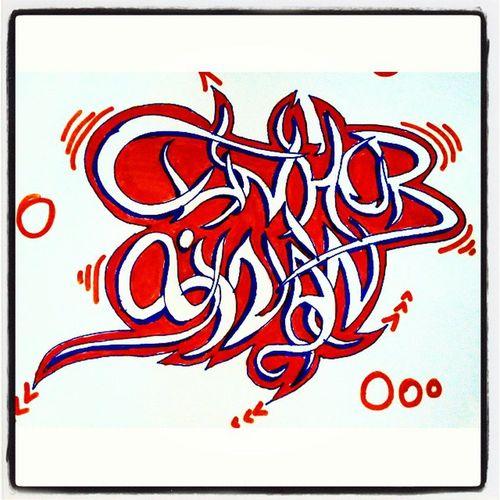 Graffiti CUMHUR Sinan cumhur abim icin..