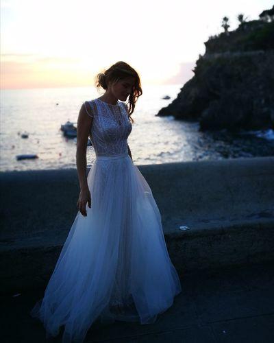 me ,bride to Cinque Terre,and my P9tel Bride