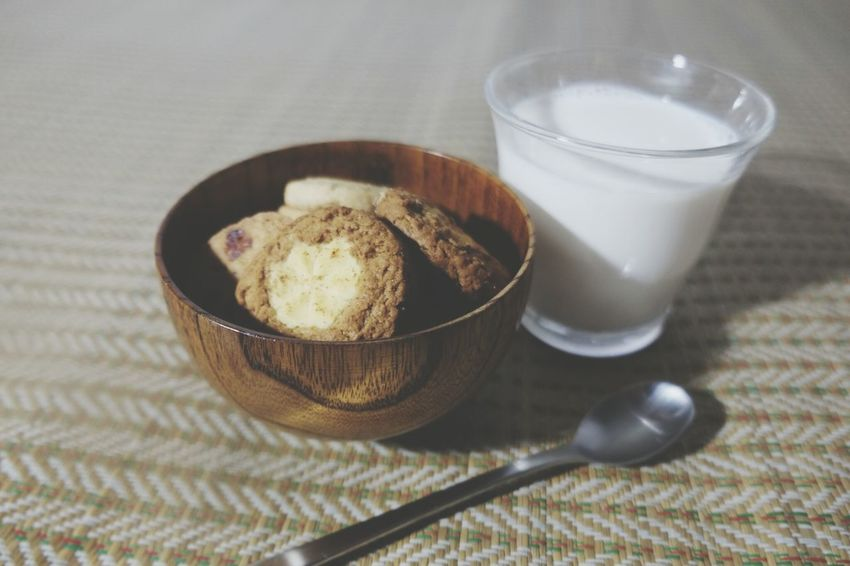 Milk Cookies Photography Taking Photos