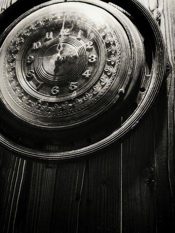 Blackandwhite Nice Pic NiceShot Clock Woodclock Time Oldclock