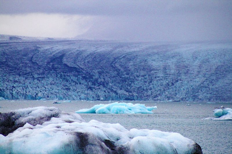Cold Temperature No People Nature Snow Beauty In Nature Outdoors Glacier Lagoon Iceland Iceburgs Blue Ice Glacier
