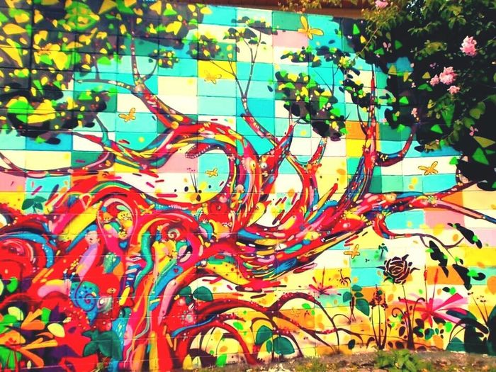 Street Art/Graffiti Brazilian Artists São Paulo Artistic City Colour Of Life