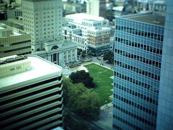 Oakland Tribune Tower Nein Grenze Amazing View