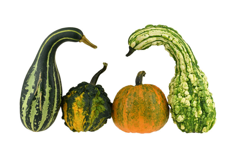 Close-up of fruits against white background