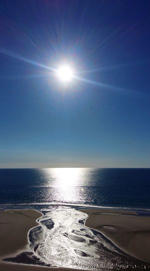 Australia Fraser Island Nature Photography Water Sky Horizon Sea Horizon Over Water Sunlight Scenics - Nature Beauty In Nature Sun Nature Tranquility Tranquil Scene Reflection Sunbeam Lens Flare Sunny Land Beach Day No People