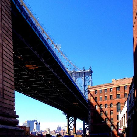 Architecture New York Newyork Broklyn Bridge