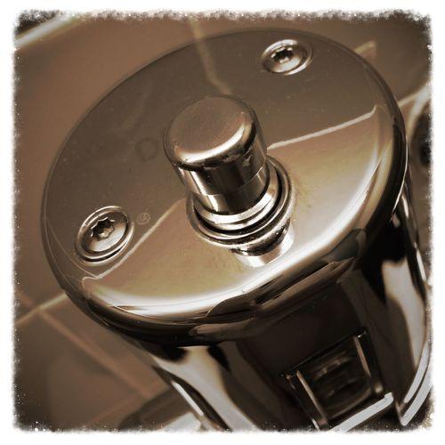 Flush valve. Iphone 5 Photo Of The Day Photography Reflection Barhroom