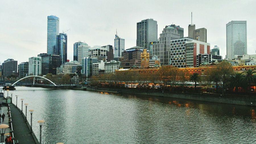 View. Australia Melbourne City
