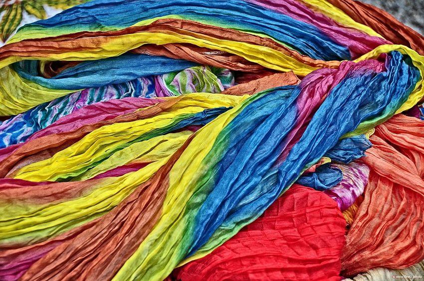 Einfach nur bunt Bunt Farbig Colored Stoffmarkt Stoffe Photoshop Ibiza Hippiemarkt