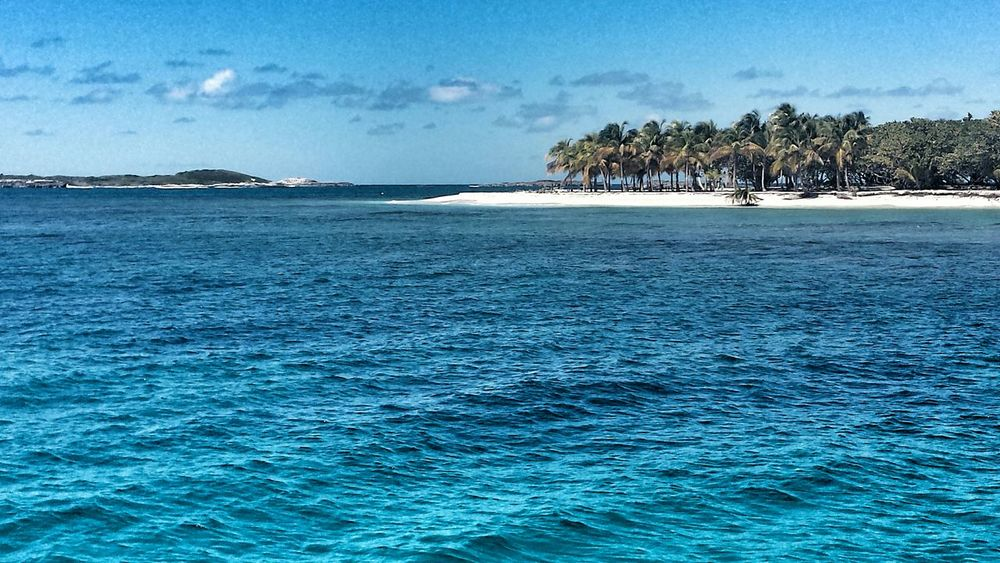 Amazing sunny day at Cayo Lobo Everyday Joy Puerto Rico Beach Relaxing Time Sun Sand Blue Wave Summer Road Tripping