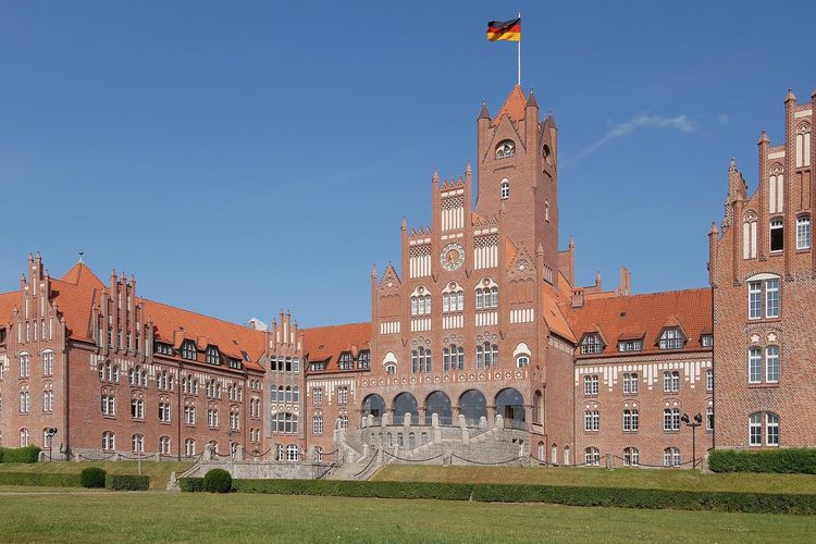Faade Of Government Building In Germany