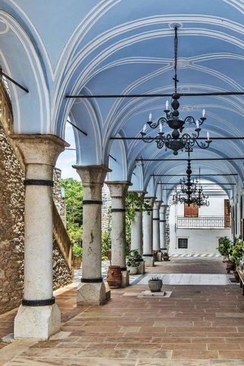 Mesta - Chios / Greece Greece Architecture Building Blue