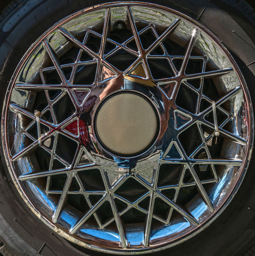 Alloy Wheels Alloy Rim Alloy Rims Alloy Wheels Architectural Feature Circle Clock Day Design Directly Below Geometric Shape Low Angle View No People Ornate Skylight Stained Glass Time