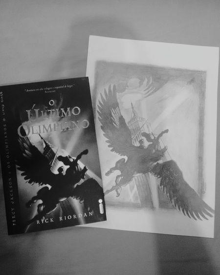 Shades Of Grey By Me Art Percyjackson Rick Riordan Black And White My Drawing Drawing Percy Jackson Light And Shadow