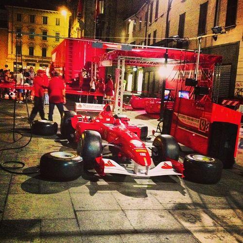 Box Ferrari #f1 #monzafest F1 Monzafest