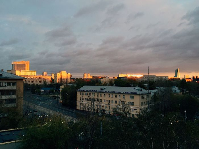 Moscow Paint The Town Yellow