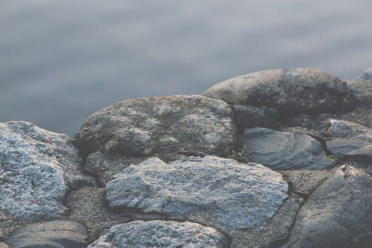 Nature Rock - Object Water Tranquility Beauty In Nature Outdoors No People Close-up Day Scenics Sky Throughmyeyes Canonphotography Explore Photography Focus On Foreground Rocks Rocks And Water