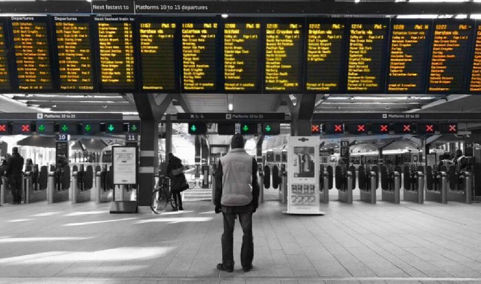 Choices choices. Travel Arrival Departure Board Journey Train Station Trains London London Bridge London Bridge Station U.K. Living