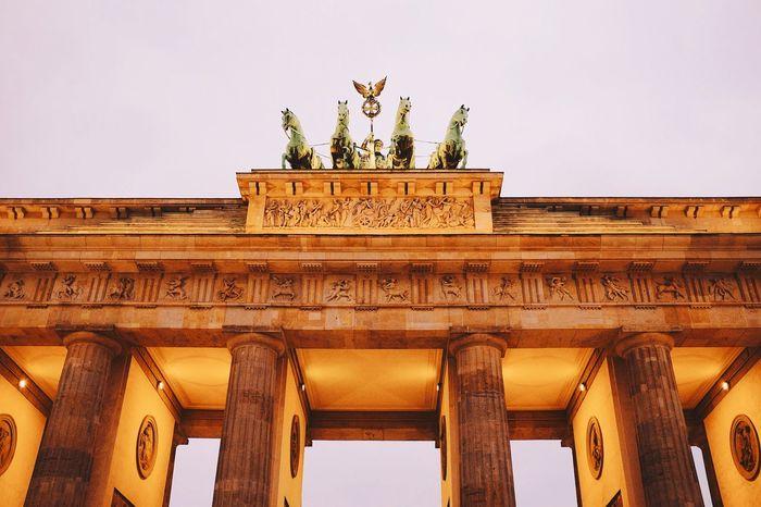 Brandenburger Tor | Brandenburger Tor VSCO Vscocam FUJIFILM X100S Fuji X100s X100S My Fuckin Berlin Berlin Brandenburgertor Landmark