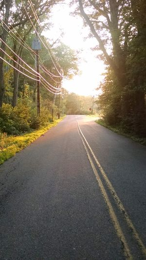 Relaxing Peaceful Walk Quiet Road Sunset Could Roam Forever My Year My View My Own World  Peaceful Place Eyeem Photography Quiet Walk Beautiful Day Sunset_collection Taking Pictures Beautiful View Sunlight