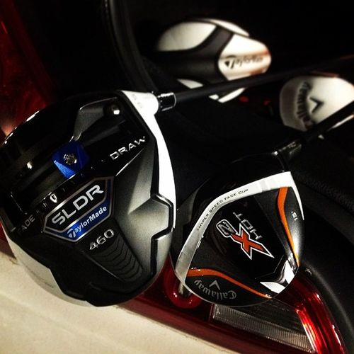 Callaway X2hot Taylormade Sldr loftup golf driver wood instagolf itsgametime sosexy teamtaylormade teamcallaway
