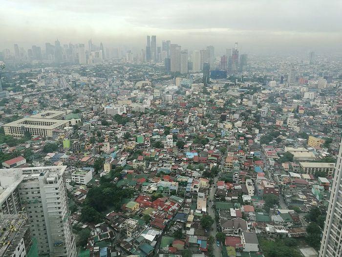 Sprawl Manila Embrace Urban Life Aerial View Cityscape City Outdoors EyeemPhilippines BGC Taguig