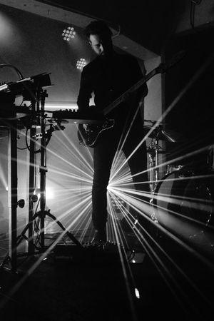 Trentemøller @ SWG3 - Glasgow 26/01/2017 Colors Danish Electro Electronic Electronica Fixion Gig Glasgow  Live MinimalTechno Multiinstrumentalist Music Photo Producer SWG3 Techno Thelastresort Trentmoller