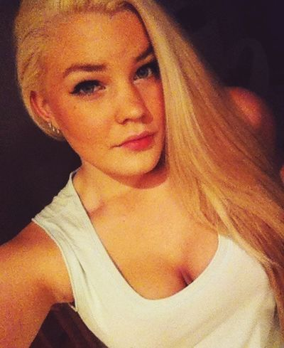 Enjoying Life Happy Finnish  Girl