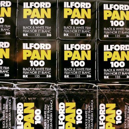 Ilford Pan 100. 135. Ilford Film Ilfordfilm Ilfordpan100 filmcamera 135film 135 菲林 無謂藝術