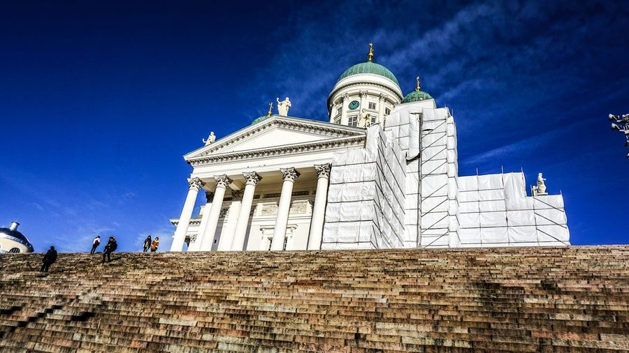 (C) Michael Christian Martinez Helsinki,finland Senatesquare Cathedral . Learn & Shoot: Simplicity Showcase: November Europe Travel Photography EyeEmBestPics Capture The Moment From My Point Of View EyeEm Best Shots Eyeemphotography Sony A6000 The Places I've Been Today Travel Tour Finland Famous Landmarks Seeing The Sights