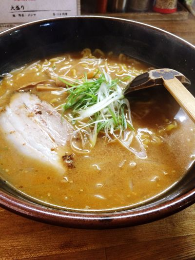 Food And Drink Soup Bowl Noodle Soup Food Indoors  Still Life Noodles Ramen Noodles Freshness No People Healthy Eating Serving Size Table Soup Bowl Ready-to-eat Close-up Day Shingen Sapporo Hokkaido Japan
