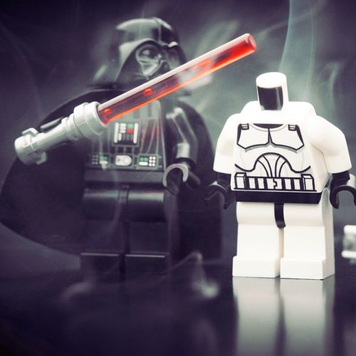 Opppsss! #star #wars #starwars #lego #minifigure #darth #vader #red #lightsabre #smoke #trooper #lostyahead #sadfuck LEGO Starwars Star Trooper Vader Darth Wars Lightsabre Sadfuck Minifigure Lostyahead Smoke Red