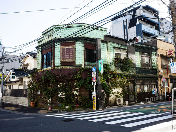 Architecture Building Exterior Built Structure Japan No People Old Buildings Old House Old Town Street Tokyo EyeEmNewHere