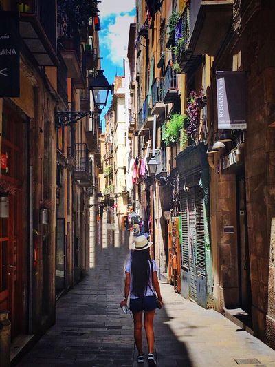 Barcelona SPAIN Gothic Exterior Colors