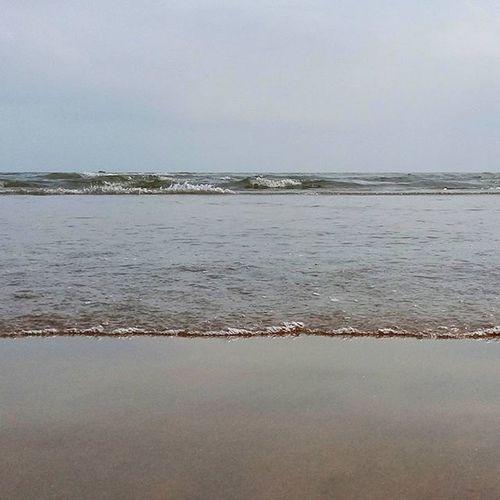 Endless sea. And a lonely Beach. K3note Lenovo Phone Beach Sea Ocean