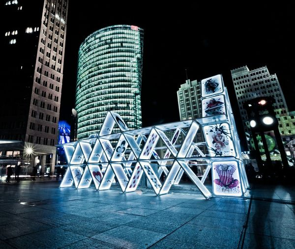 Festival Of Lights 2015 House Of Cards Berlin