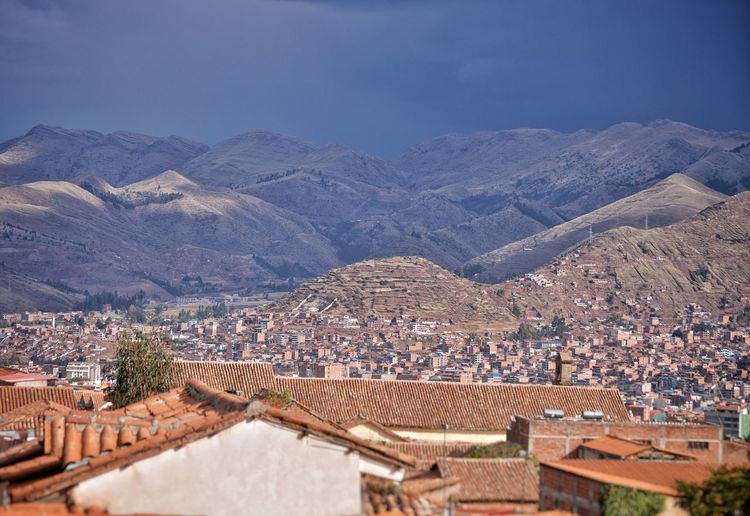 Beautiful view from my room in Cusco, Peru. Mountain Range Backgrounds Focus Dramatic Landscape Mountains And Sky Mountain View Room View Altitude Beautiful View Mountain City Town Ancient Civilization Sky Architecture Mountain Range TOWNSCAPE Rooftop Historic Residential Building