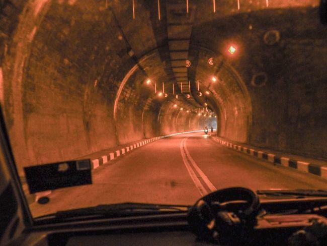 Betong Thailand 🇹🇭 Tunnel Road Travel Car Thailand Betong Photography Day