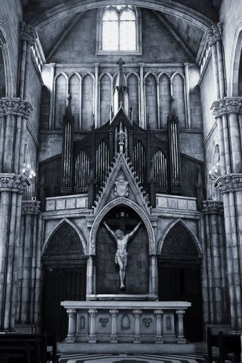 Religion Place Of Worship History Statue Spirituality Architecture Sculpture Human Representation Arch Day No People Built Structure Travel Destinations Low Angle View Altar Black And White Friday