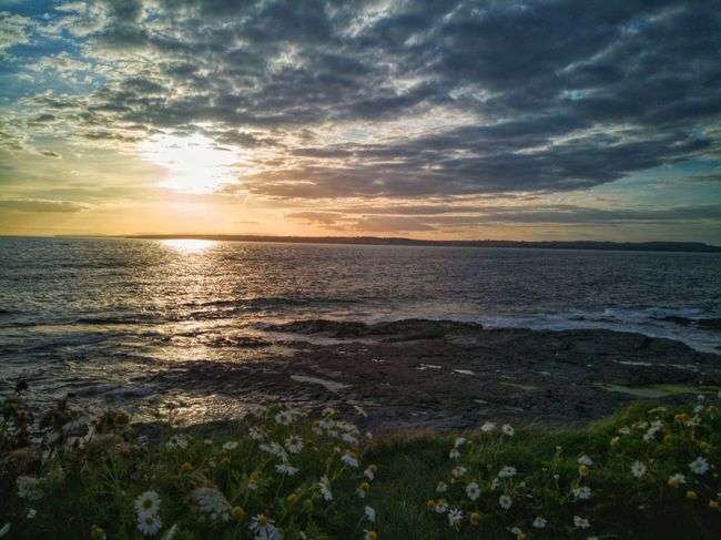 🌅 Sunset 🌞Sky☁⛅Clouds Eyeem Sunset Sea Landscape Seascape Sun Dramatic Sky Horizon Over Water Cloud - Sky Tranquility Outdoors Beauty In Nature Tranquil Scene Huawei P10 Plus EyeEmNewHere Sea And Sky Sunburst Celtic Sea Atlantic Ocean Daisy 🌼 Giant Daisy EyeEm Nature Lover Coastline Scenics Water The Week On EyeEm Lost In The Landscape