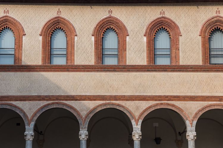 Windows Arch Architecture Low Angle View Day Built Structure No People Building Exterior Outdoors