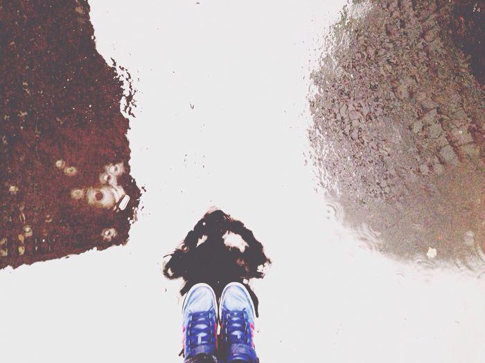 Self Portrait Selfportrait_tuesday_nonchallenge Rain Reflection Lookingdown