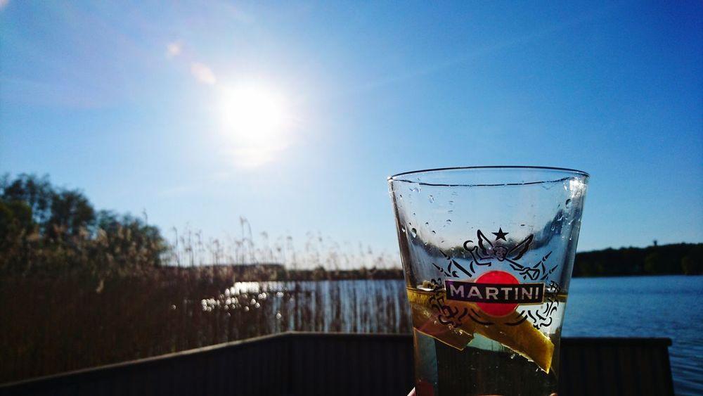 Drink Martini Holiday Sun Alkoholic Drinks Mecklenburg-Vorpommern Beachparty Hausamsee