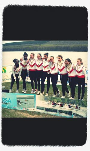 Race Eight More Victory !!! Aviron <3
