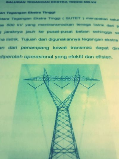 Extra high voltage Skripsi Electrical Engineering Sutet