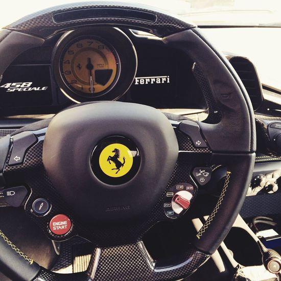 Ferrari 458 speciale, steering wheel Ferrari458