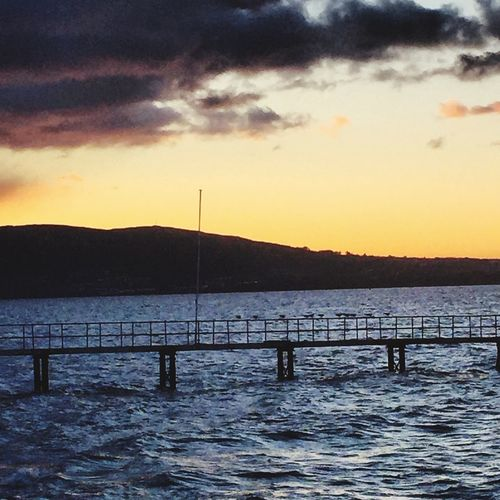 Check This Out Taking Photos Lookatthis Dusk Sky Water Jetty