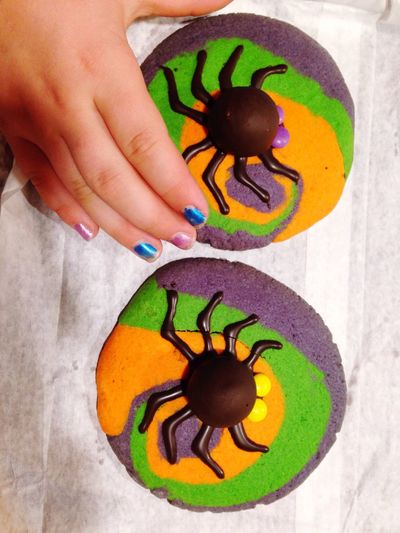 Yummy Sweet Desert Helloween For Kids For Kids And For Adults Spider Be. Ready.